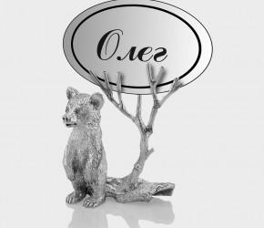 Подставки под именную карточку с мишкой